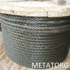 Канат стальной DIN 3059 DIN EN 12385-4-2003