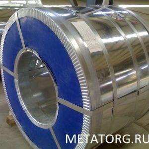 Оцинкованная сталь в рулонах